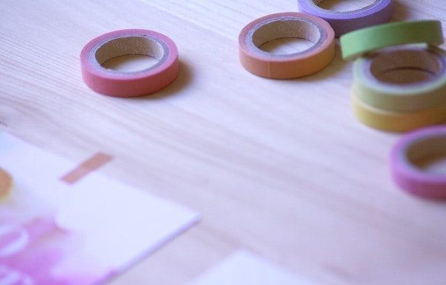 マスキングテープは収納術16選!大量のマステをコンパクトに保管