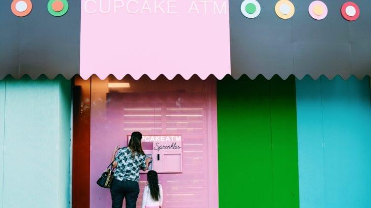 アメリカに世界初のカップケーキATMが♡ 使い方は簡単!
