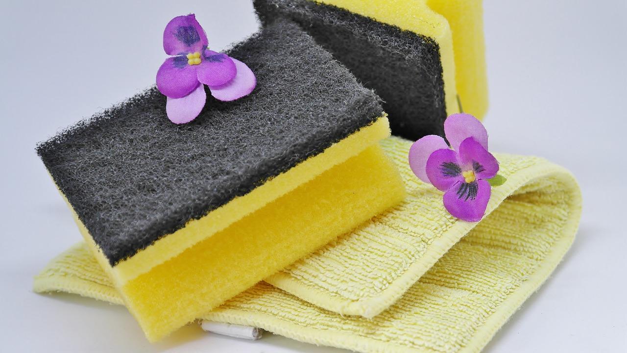 食器用スポンジの清潔な使い方&4つの素材別特長とおすすめ5選!