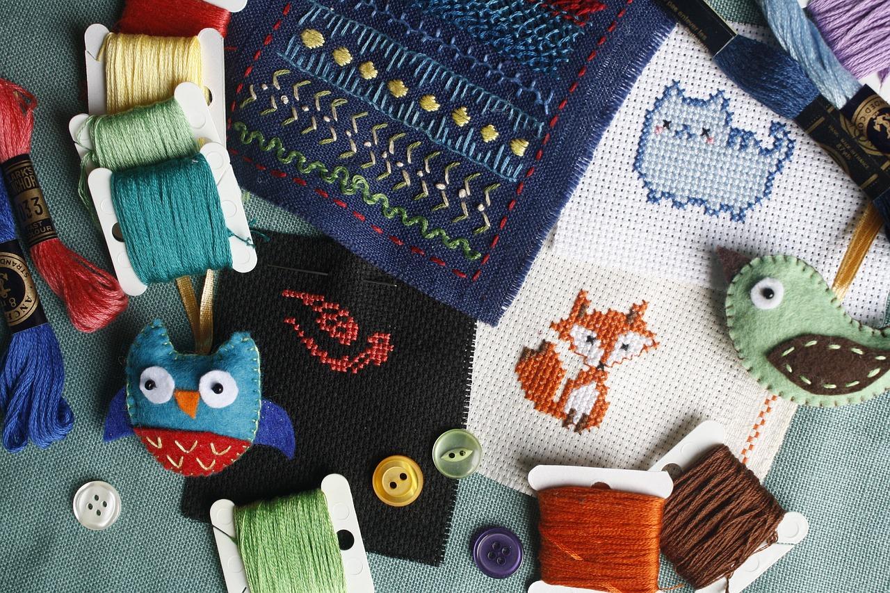 刺繍の縫い方 基本編|5つの必須アイテムと6つの基本ステッチとは