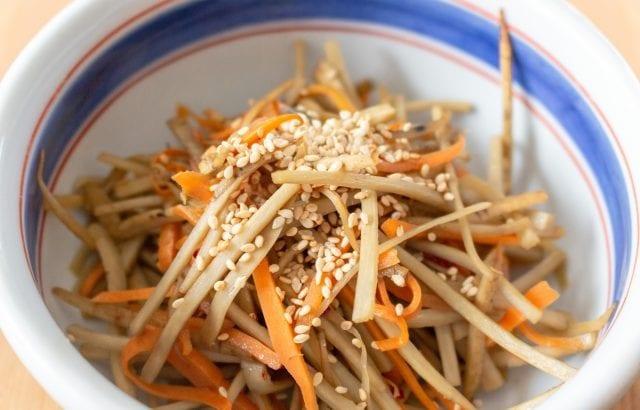 ご飯がすすむ常備菜!色々な野菜で作る簡単きんぴらレシピ13選