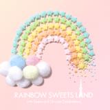 「RAINBOW SWEETS LAND」が5/9から開催|カラフルポップなアート展