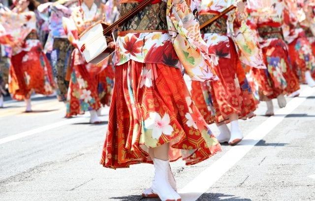 よさこい祭り2019年最新情報!見どころ満載の衣装/踊りとは【全国】