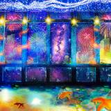 【東京タワー】日本の夏をデジタルアートで体験|夜景体験イベント「シティライトファンタジア」開催