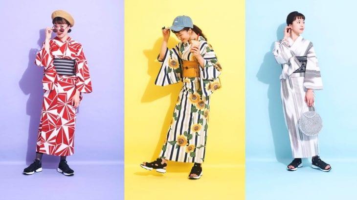 2019年の浴衣はスニーカーとスポサンで決める|Reebokが提案する3つのコーデ