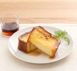 厚切り食パンのフレンチトースト