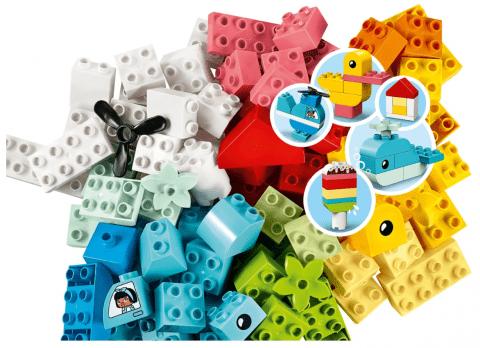 デュプロのいろいろアイデアボックス <ハート>|レゴのスターターセット