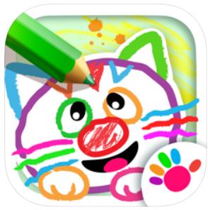 創造性を育む「子供知育お絵かきゲーム! 色塗りアプリ幼児3歳」