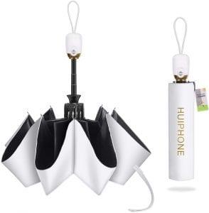 HUIPHONE 折りたたみ傘 ワンタッチ