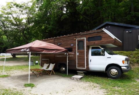 CampVillage タロリン村|キャンピングカーの宿泊体験も可能