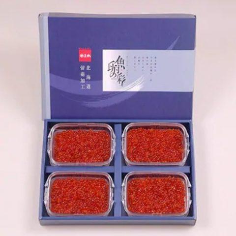 4位:北海道留萌市 いくら醤油漬け 150g×4P入 (計600g)