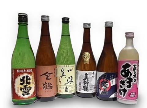 3位:新潟県佐渡市 佐渡の蔵元飲み比べセット