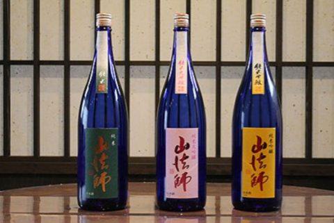 8位:山形県大石田町 六歌仙酒造「純米大吟醸 山法師」「純米吟醸 山法師」「純米 山法師」1,800ml 3本セット