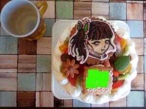 ワイルドベリー キャラクターケーキ