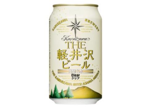 3位:長野県佐久市 THE軽井沢ビール<クリア>24本