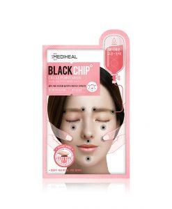 メディヒールサークルポイントブラックチップマスク