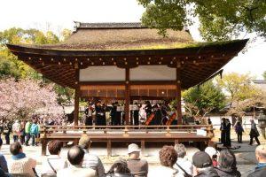 平野神社クラシックを中心とした桜コンサート