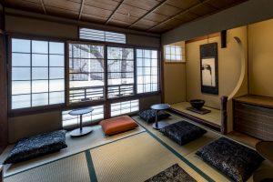 畳でいただく「スターバックス京都二寧坂ヤサカ茶屋店」