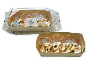 メープル&ナッツ パンケーキ