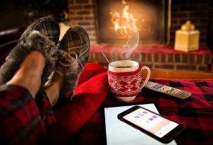 冬の室内の写真